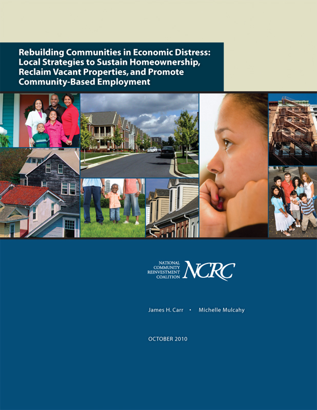 Rebuilding Communities in Economic Distress (REO Report)