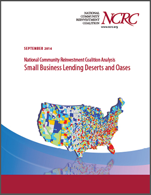 NCRC Analysis: Small Business Lending Deserts and Oases