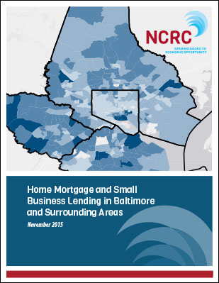 Home Mortgage and Small Business Lending in Baltimore and Surrounding Areas