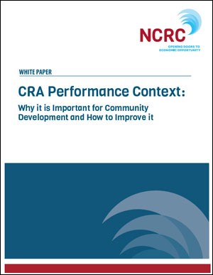 CRA Performance Context Paper
