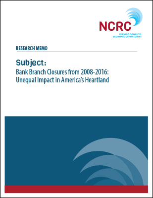 Bank Branch Closures from 2008-2016: Unequal Impact in America's Heartland