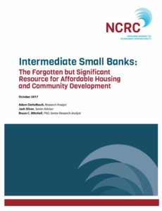 Intermediate Small Banks: The Forgotten but Significant Resource for Affordable Housing and Community Development