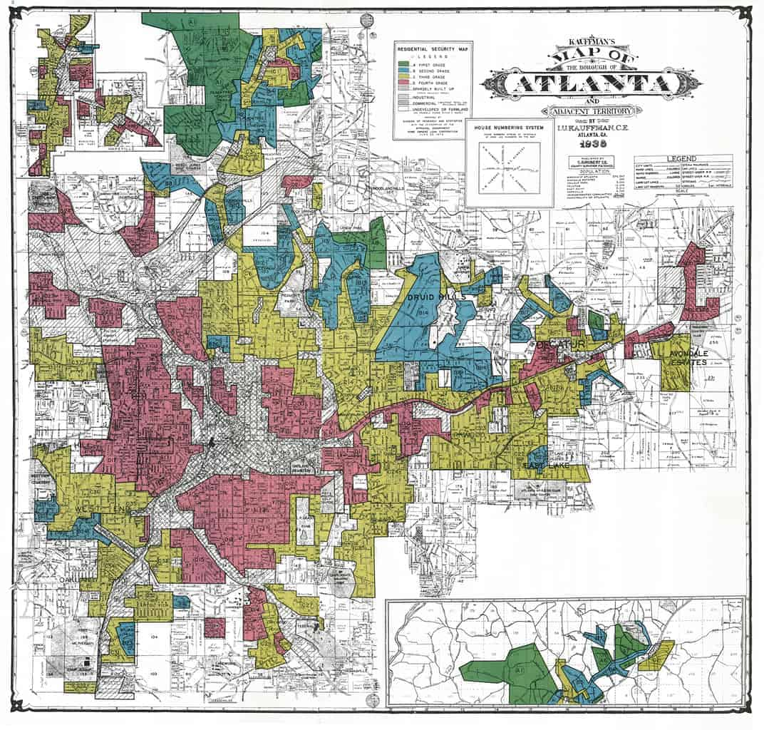"HOLC ""redlining"" maps: The persistent structure of segregation and economic inequality"
