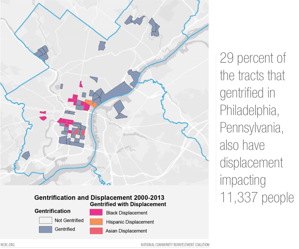 Philly gentrification map