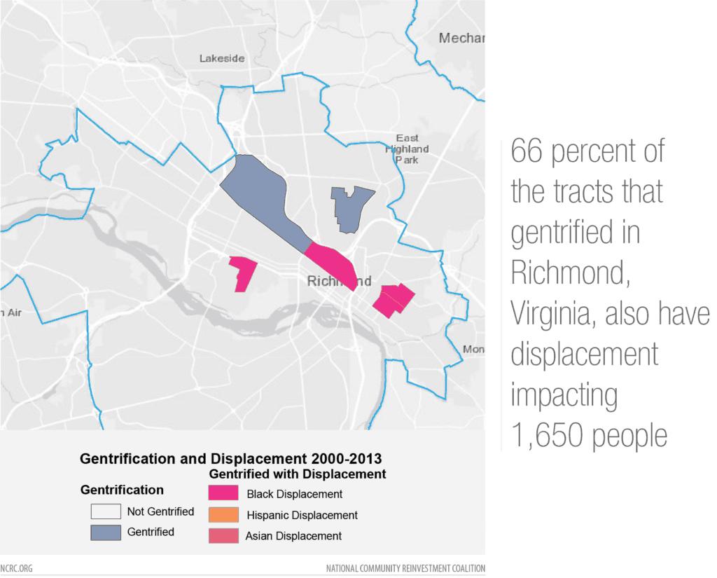 Richmond gentrification map