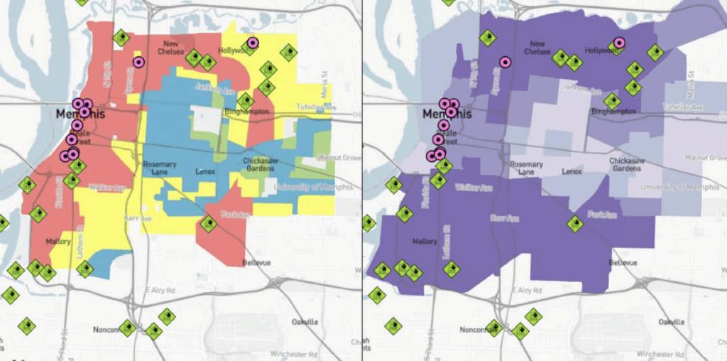 Memphis inequality map