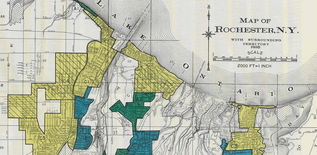 Covid 19 Disparities In Rochester Ny The Legacy Of Redlining In The City Of Frederick Douglass And Susan B Anthony Ncrc