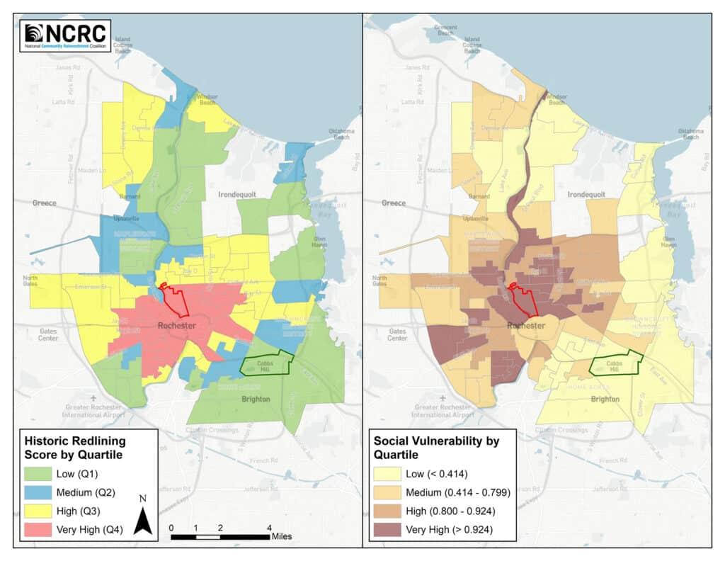 Historically Redlined Neighborhoods and Social Vulnerability