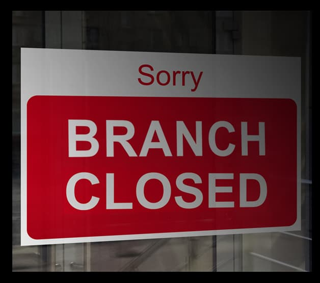 Branch Closed photo
