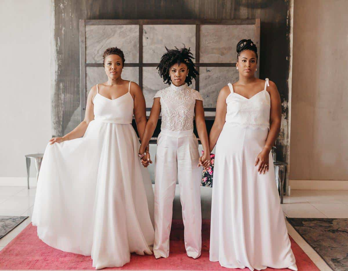 NAK Design Studio is a nontraditional bridal attire for unconventional and fashion-forward brides.