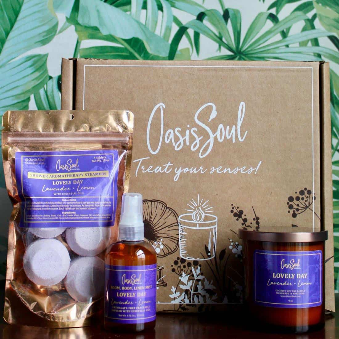 Oasis Soul Scent Co. crafts luxuriously scented candles and home & body treats with natural ingredients & lasting fragrances. Products are handmade with love in Maryland, USA.