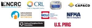 Civil rights, fair lending and consumer rights organizations call on the Federal Reserve to strengthen the Community Reinvestment Act
